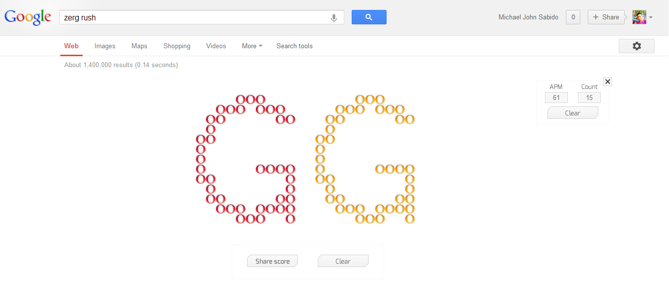 can you save your search results from google s zerg rush maikel