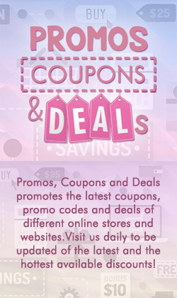 Promos, Coupons and Deals